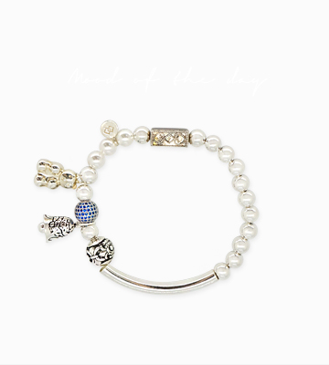 Silver Point chram antique Bracelet [SM16DB3]