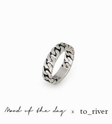 Silver Chain Ring Serise [SM16DR48]